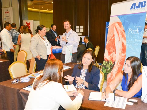 Click on this photo for a preview of the 2017 USMEF Latin American Product Showcase