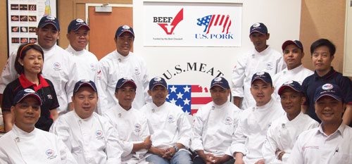 Chefs from Bali and Jakarta participated in a two-day training program