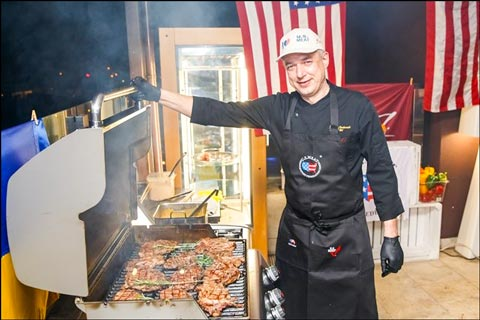 Along with tastings, guests attending American Barbecue Fest were provided information about the U.S. red meat industry and offered recipe ideas and preparation tips for U.S. beef