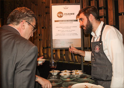 USMEF offered tasting samples of U.S. beef, pork and lamb to foodservice professionals at the Atlantic Prime Food Show in Mexico City