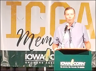 USMEF Chair Addresses Iowa Corn Producers on Value of Red Meat Exports