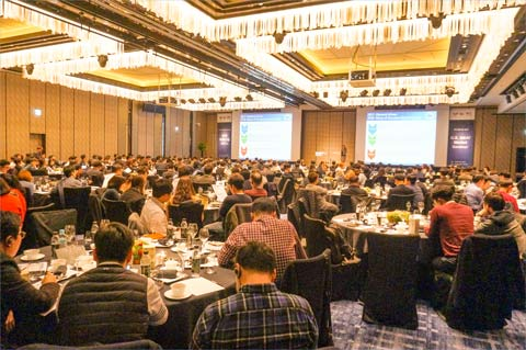 USMEF hosted more than 300 Korean traders, distributors, foodservice operators and retailers at the U.S. Meat Market Seminar