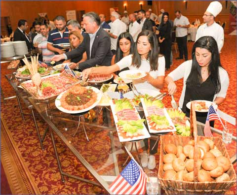 Following the USMEF seminar, participants were treated to a dinner featuring U.S. beef