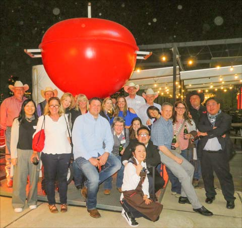 U.S. Beef Leadership Team members and USMEF staff pose for a photo during the Weber grilling event in Japan