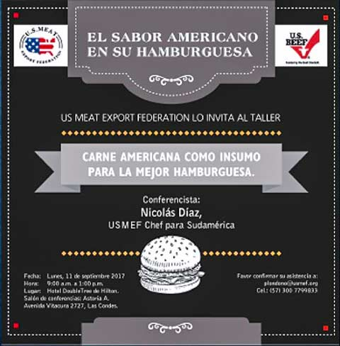 A U.S. Burger Workshop hosted by USMEF promoted the use of U.S. beef in gourmet-style burgers