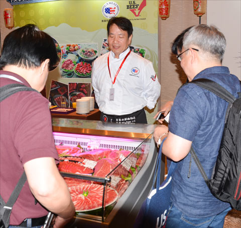 A wide variety of U.S. beef cuts attract interest in Guangzhou