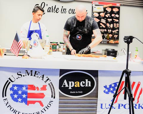 U.S. pork trainings in Ukraine helped educate chefs and managers from the country's HRI sector while also promoting the use of U.S. pork cuts on menus