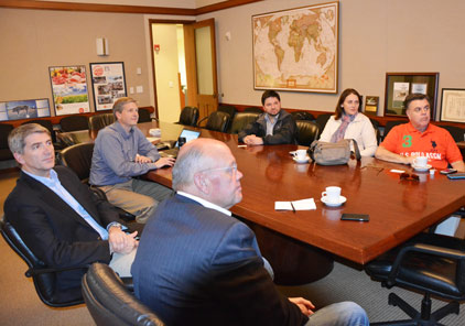 Buyers from Chile met with USMEF staff in Denver this week to learn more about underutilized cuts of U.S. beef and pork