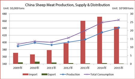 China-Mutton-Production