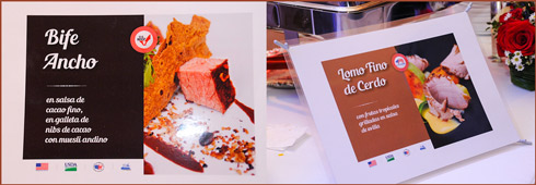 U.S. beef dishes were served at the reception to demonstrate the products' quality and taste to importers
