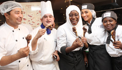 UAE chefs sample U.S. lamb