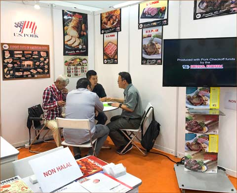 USMEF meets with prospective importers of U.S. pork at Food and Hotel Malaysia