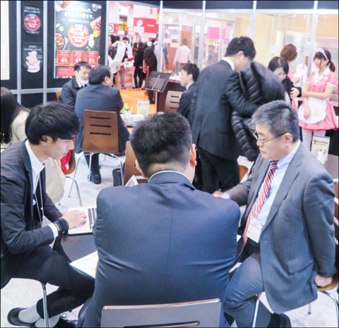 USMEF connected member companies to meat importers interested in U.S. beef and pork during the four-day FOODEX show