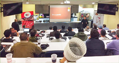 A USMEF workshop held for the foodservice sector in Peru featured alternative cuts of U.S. beef