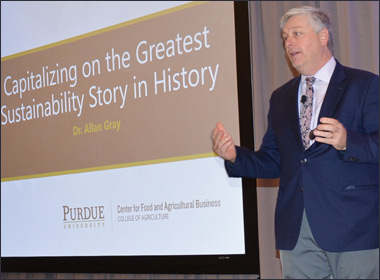 Gray: Share Ag's Sustainability Story, Focus on Why Meat is Best Choice