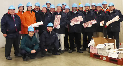 Japan's largest cold storage facility hosted the Minnesota Soybean Growers Association team earlier this week