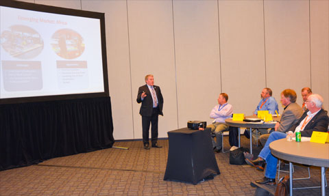 USMEF President and CEO Dan Halstrom speaks to Export Growth Committee members about U.S. beef's growing presence in Africa