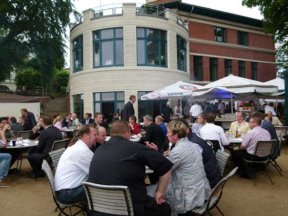 U.S. beef tasting event at the Süllberg Hotel and Restaurant in Hamburg, Germany