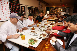 Chefs from 26 different hotels and restaurants attended the USMEF U.S. beef cut seminar
