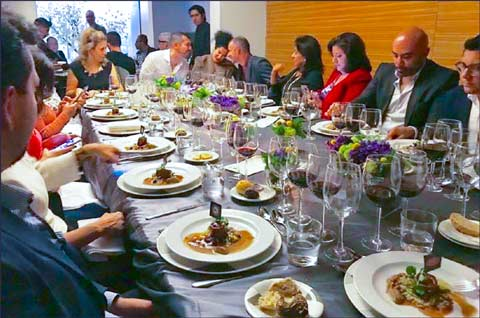 A U.S. lamb dinner served at the Mexico City restaurant Jaso featured lamb ravioli and other new lamb dishes