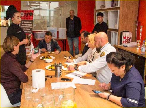 A chef's competition that was part of USMEF's 'Liverpool' promotion required chefs in Kazakhstan to prepare two dishes using U.S. beef liver