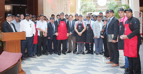 Participants in the Kuwait workshop learned about a number of U.S. beef cuts and provided ideas for menus and promotion