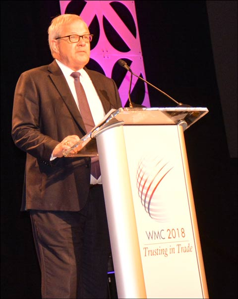 Canadian Minister of Agriculture and Agri-Food Lawrence MacAulay
