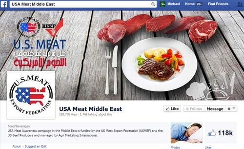 USMEF-Middle East Facebook page