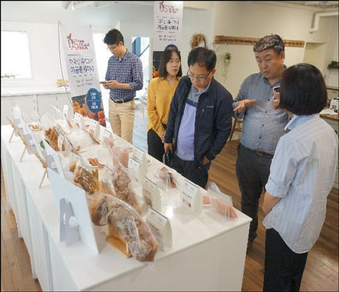 Packaging was an important topic at the U.S. processed pork seminars in Korea