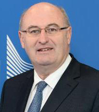 EU Commissioner of Agriculture and Rural Development Phil Hogan