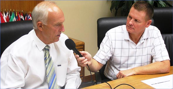AgriTalk host Mike Adams interviews USMEF President and CEO Philip Seng