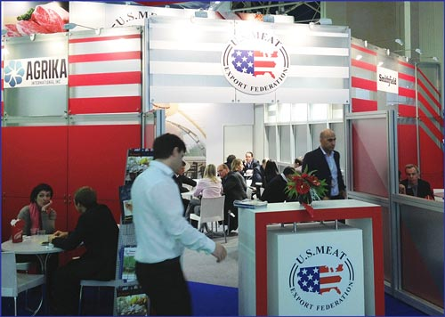 U.S. suppliers meet with prospective buyers from Russia and Eastern Europe at Prodexpo 2013 in Moscow