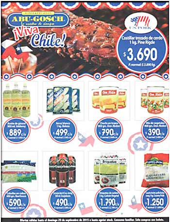 This advertisement in a Punta Arenas newspaper promoted sales of U.S. pork