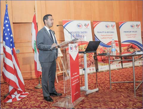 Reaz Mehdi, general services officer of the U.S. Embassy in Lebanon, highlighted opportunities for U.S. beef in the country's growing retail and foodservice sectors