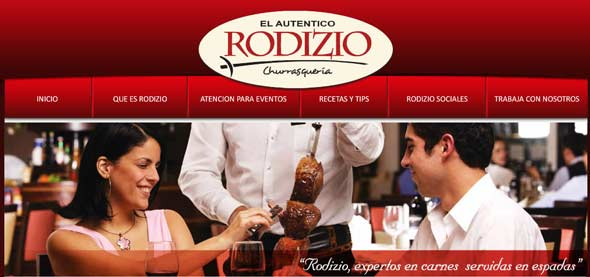 Rodizio's six restaurants in Peru feature U.S. sirloin and short ribs