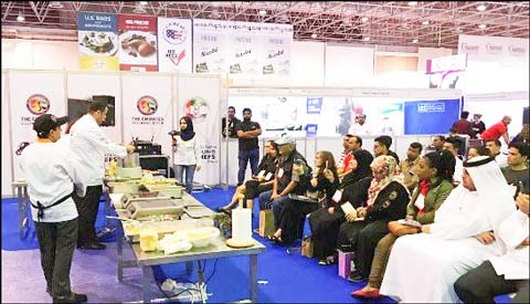 Professionals from the UAE foodservice, tourism and hospitality sectors from eight countries learn about the quality of U.S. beef through a pair of USMEF classes and educational sessions during Salon Culinaire