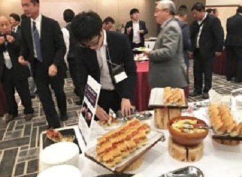 U.S. pulled pork was featured at a seminar and tasting session in Sapporo, Japan