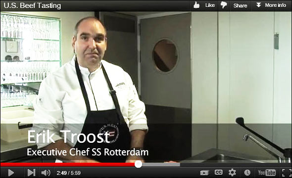 FAS also produced a video recap of the event, hosted by USMEF Regional Administrator Benjamin Fabian and featuring a brief cutting demonstration by chef Troost.