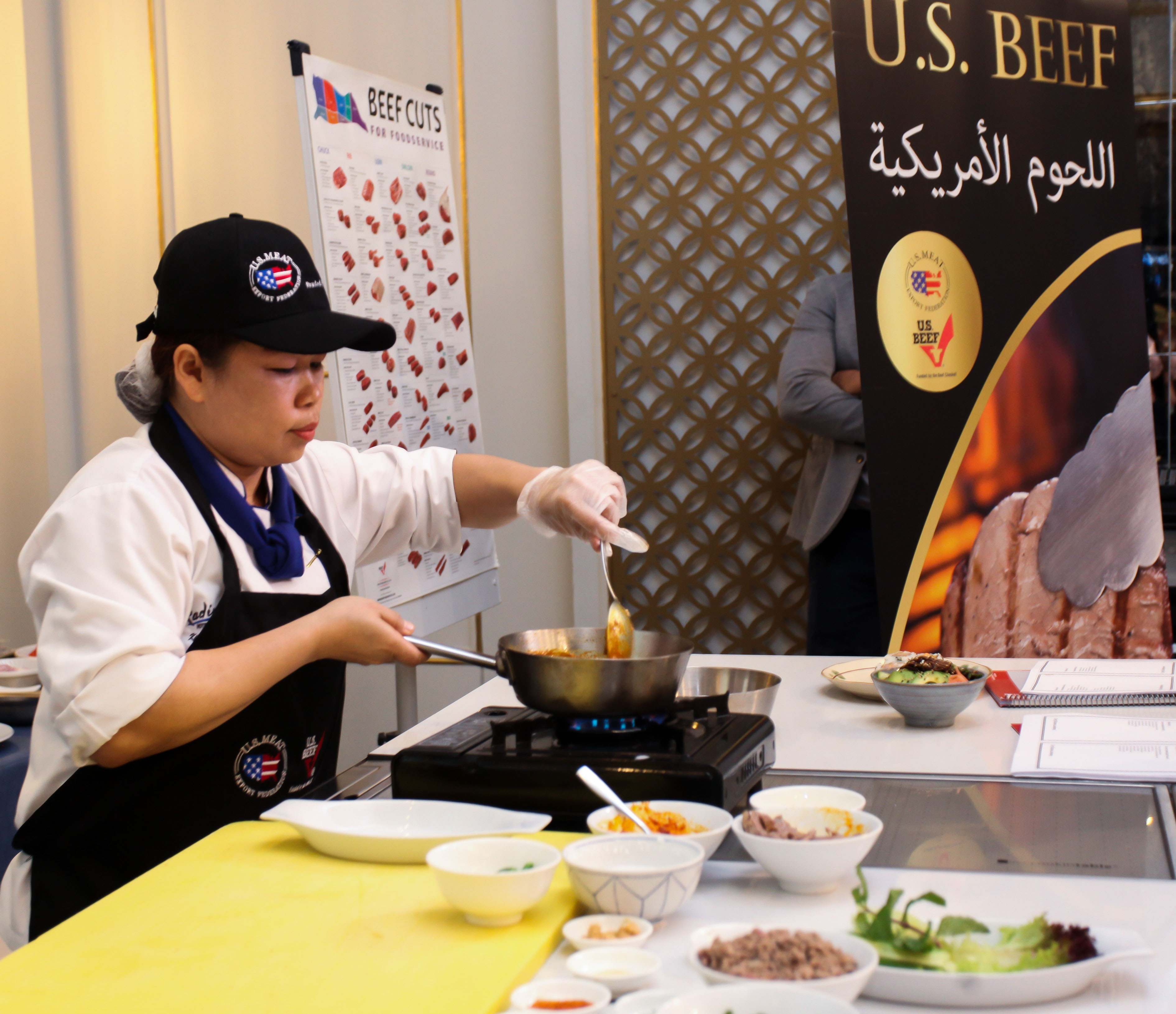 More than 90 chefs from the United Arab Emirates (UAE) were educated about U.S. beef during a training for the hotel, restaurant and institutional (HRI) sector