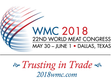 Registration Now Open for 2018 World Meat Congress