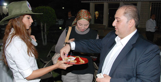 U.S. Beef Grabs Spotlight at Cairo Embassy Event