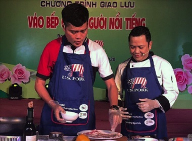 U.S. Pork Highlighted at Vietnamese Women Day Events