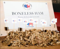 While pork butt is the most popular choice for pulled pork, ham, brisket, picnic and tenderloin are also utilized in international markets, thanks to USMEF educational seminars and promotions
