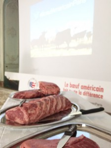 Chefs preparing U.S. beef for attendees utilized a variety of cuts
