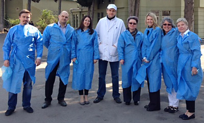 A USMEF team visited Georgian meat processing facilities, retail and foodservice outlets that hold potential for U.S. meat.