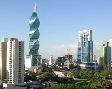 panama-skyline-with-corkscrew-tower