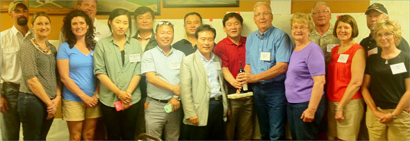 South Korean Pork Business Development team